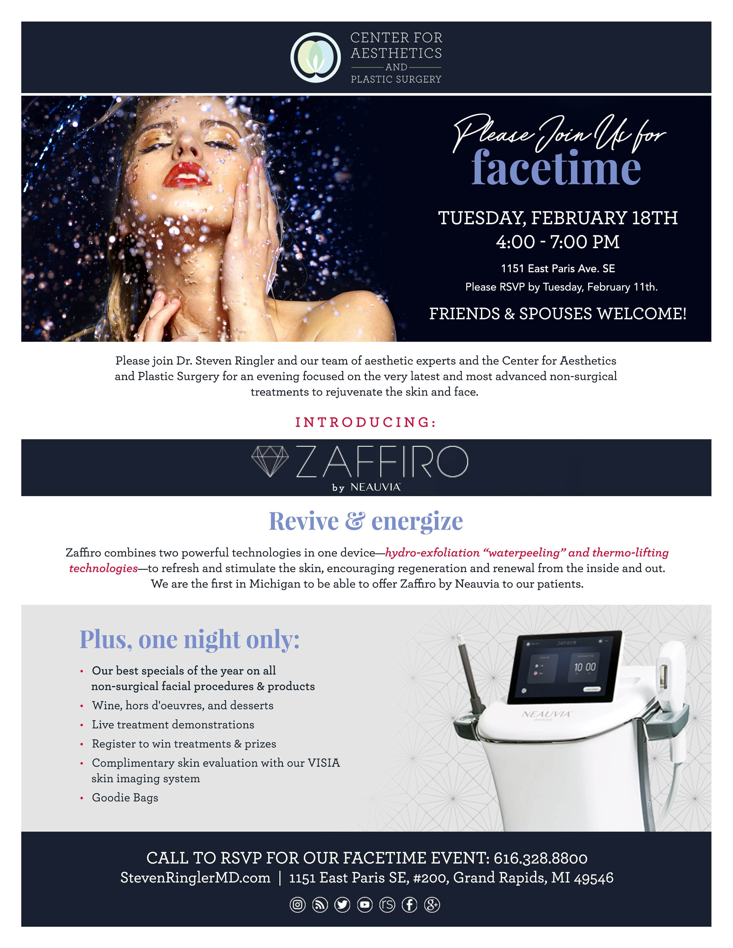 Cosmetic Surgery Seminars & Events